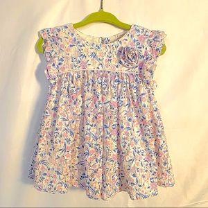 Catherine Maladrino Floral Lace Dress
